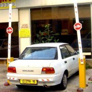 מחסום חניה חשמלי