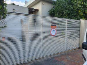 שער חשמלי לחנית בית פרטי