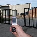 פתיחת שער חשמלי עם סלולרי