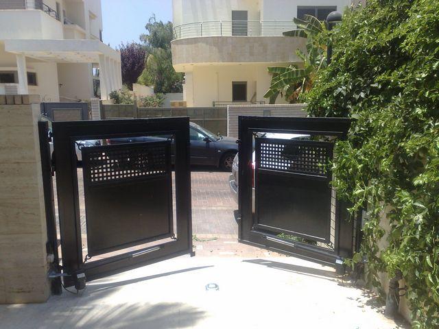 עדכני שערים חשמליים ומחסומי חניה, תיקון שערים, מנועים וציוד – מספר 1 GF-48