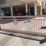 שער נגרר לחניה