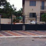 שערים חשמליים מעוצבים לבית