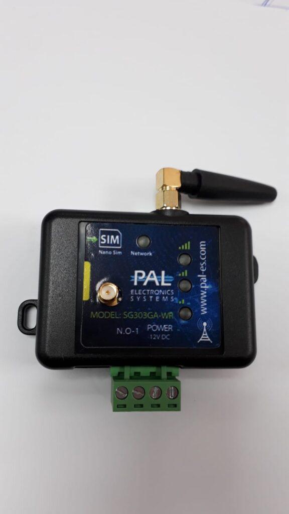 יחידה סלולרית לפתיחת שער באמצעות חיוג או אפליקציה